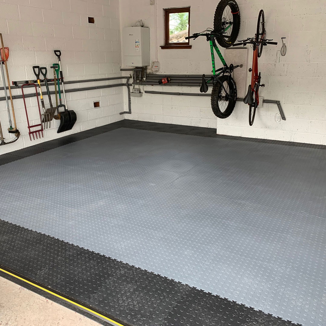 After Photo of a customers car garage