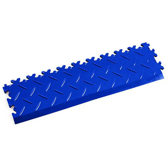 Blue Diamond Plate Shop Ramp