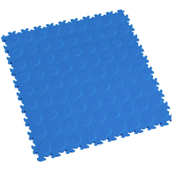 Electric Blue Cointop Floor Tile For Your Shop space