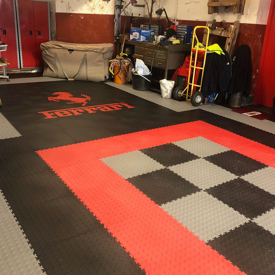 Make your own floor pattern design