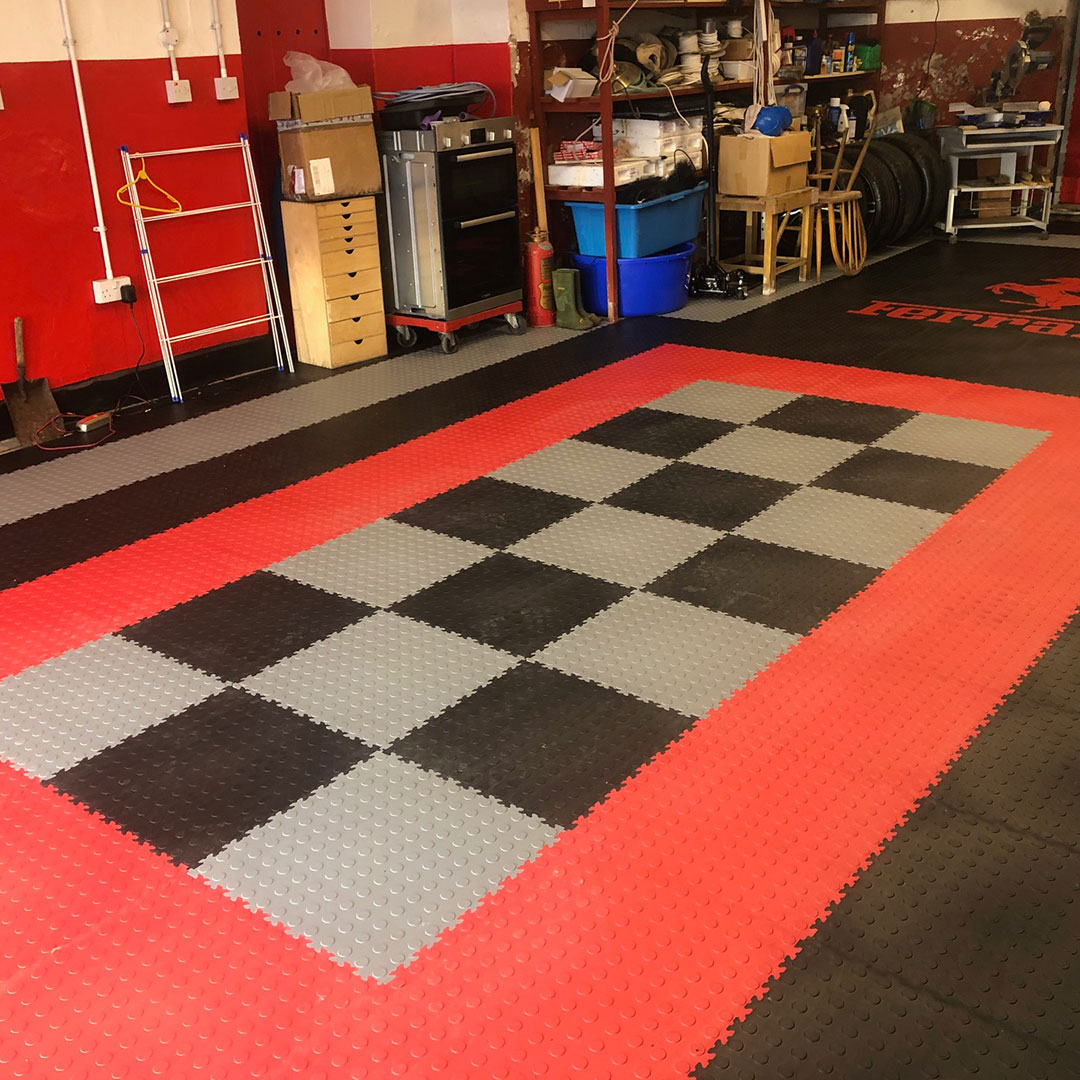Mix and Match colour tiles