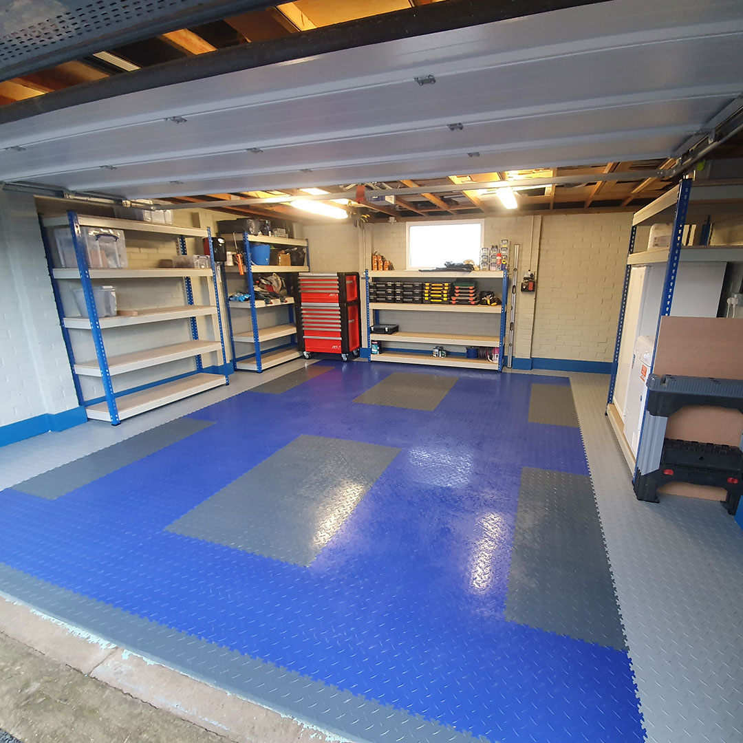 After Photo of Garage Space