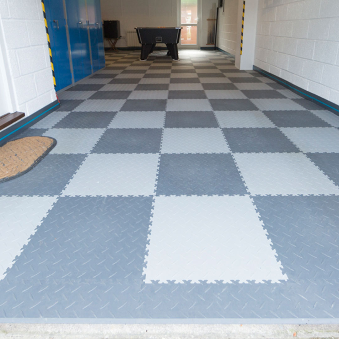 Interlocking Ramps for your garage