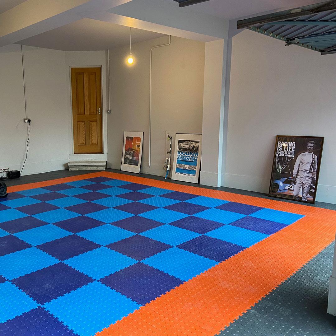 MotoLock Double Garage Interlocking Tile Colours