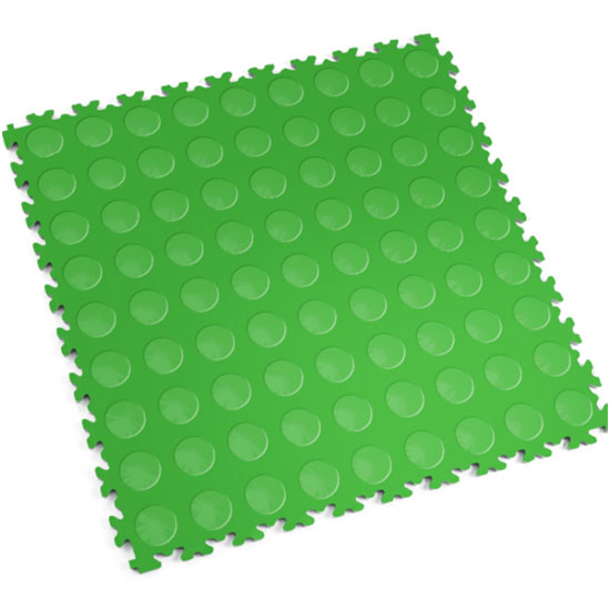 Light Green Cointop Floor Tile For Your Car Club