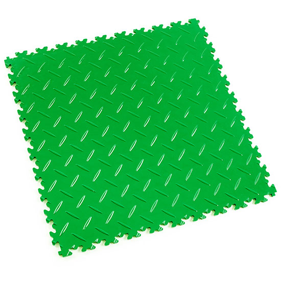 Light Green Diamond Plate For Your Shop space