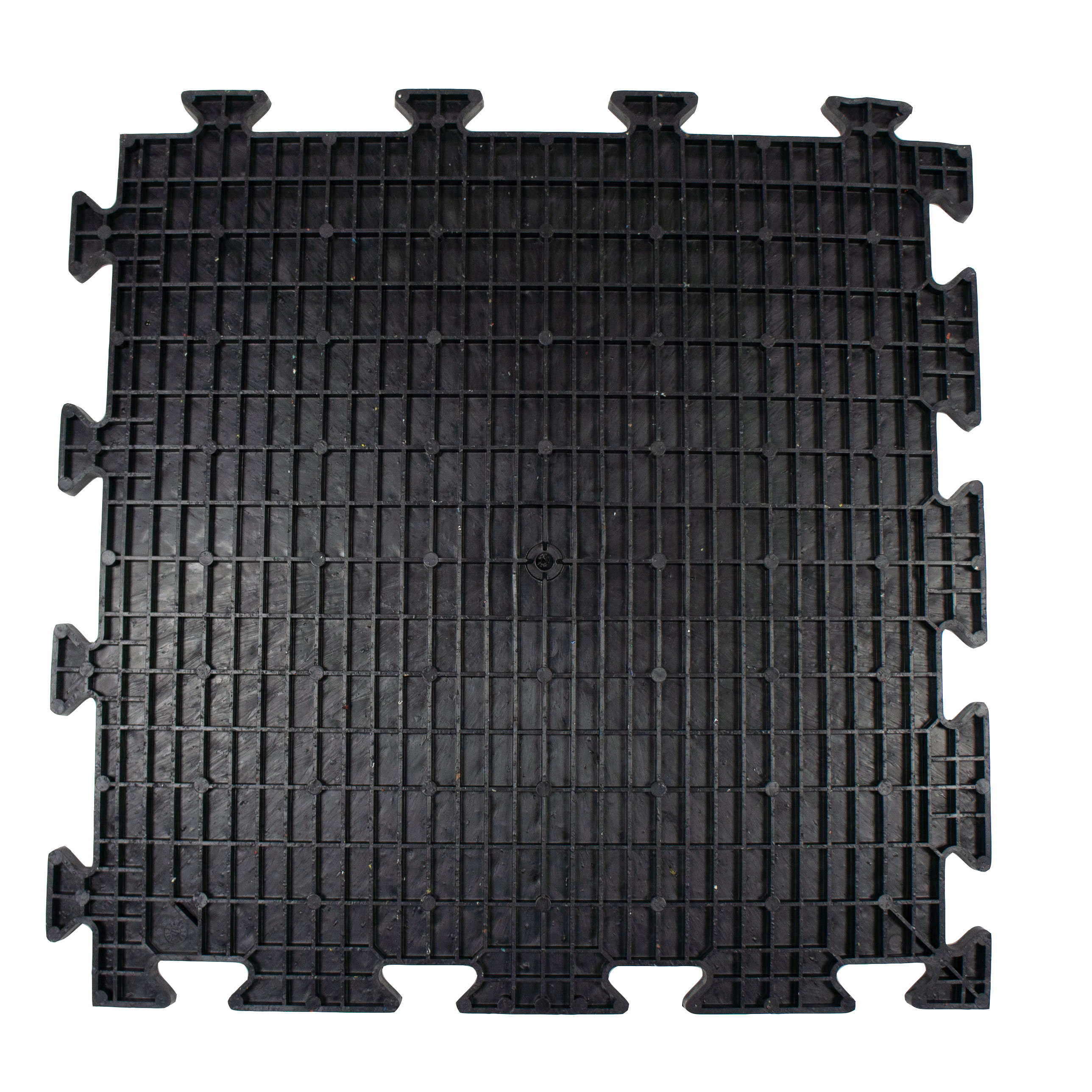 the Bottom side of MotoMat Anti-Fatigue Tile From Mototile