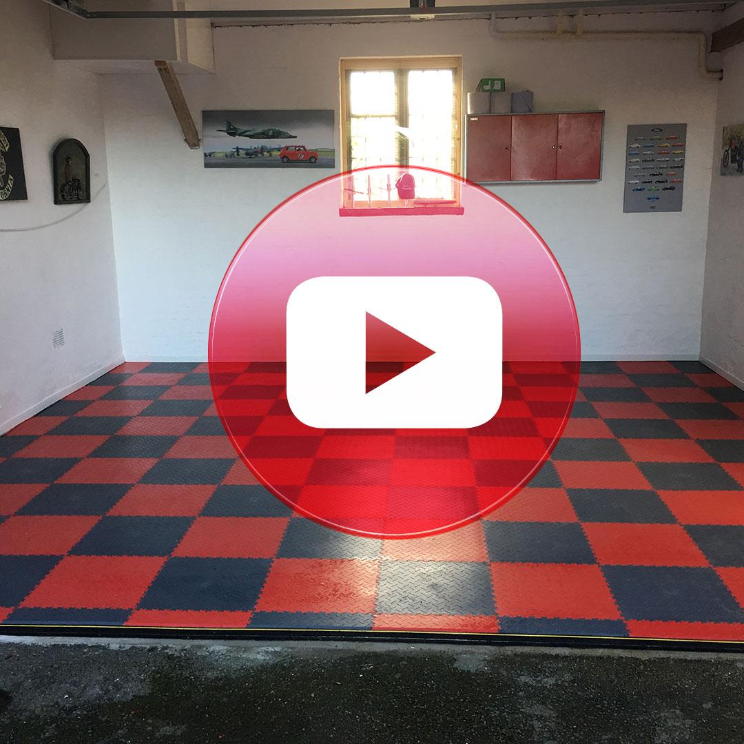 Mototile customer review on YouTube