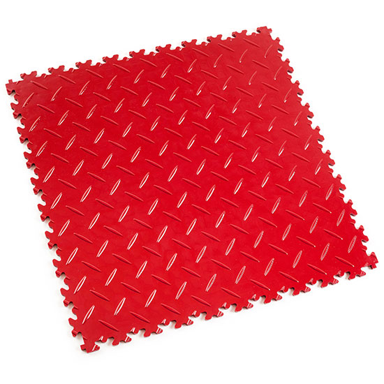 Red Diamond Plate For Your Games Room