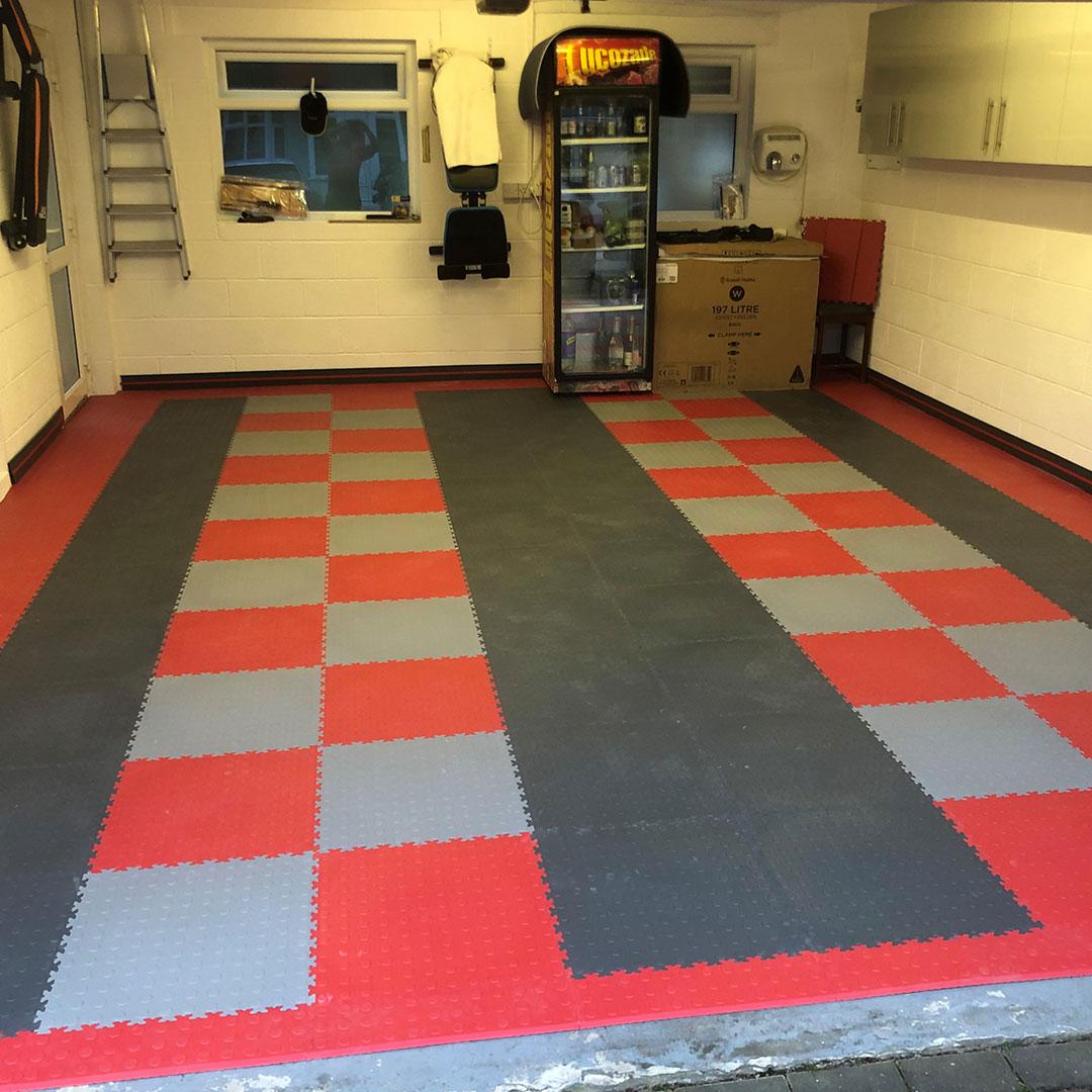 Double Garage Floor Tiles