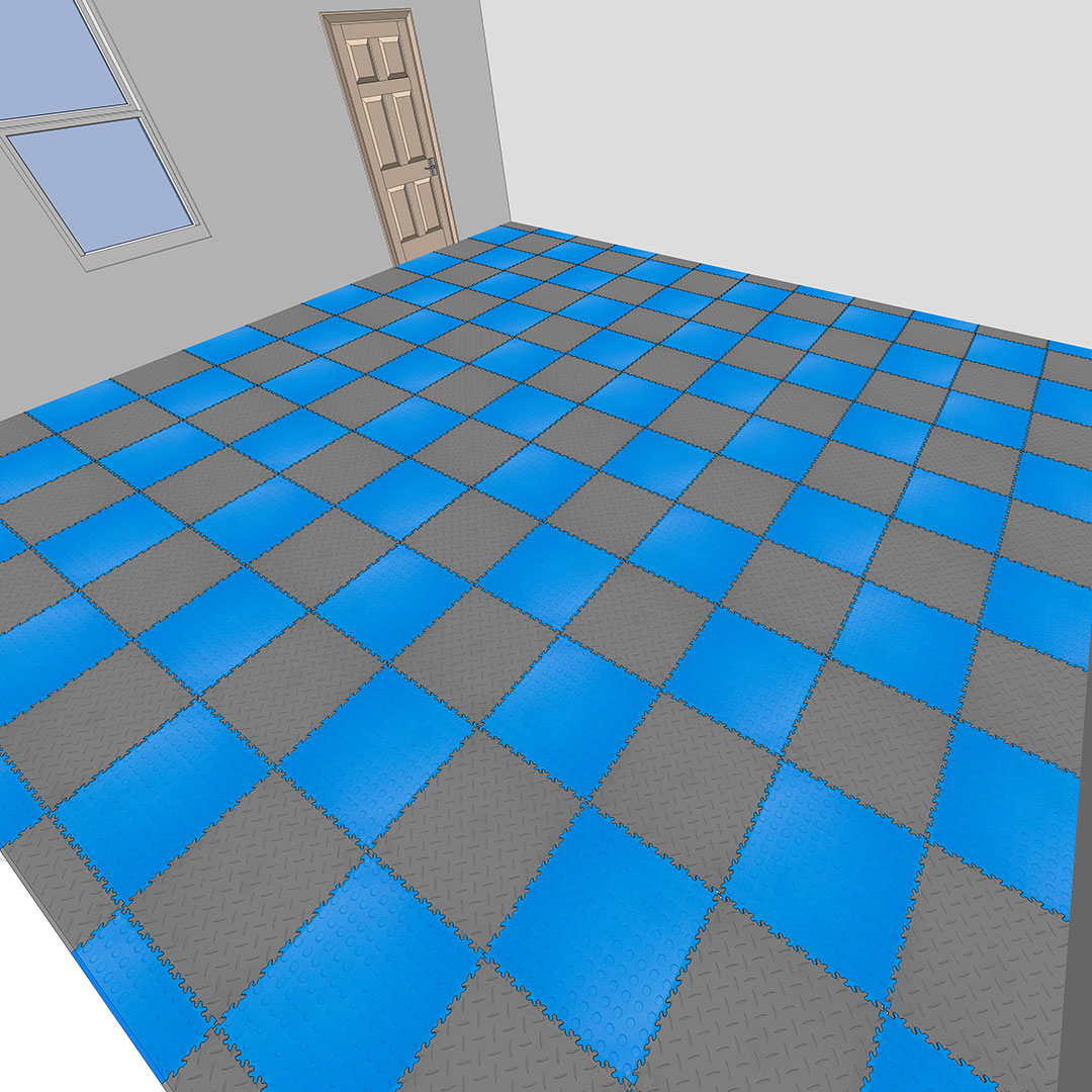 How to install MotoLock Floor Tiles Stage 5 finished flooring