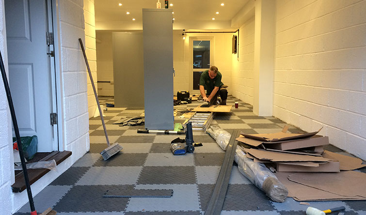 Get help to install your Mototile flooring