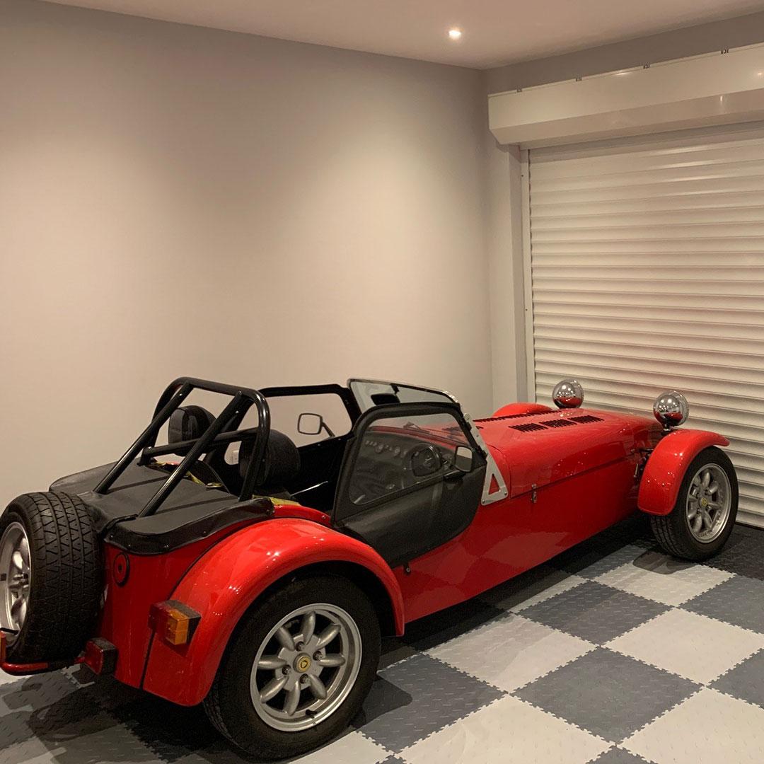 Finished Garage / Workshop Flooring