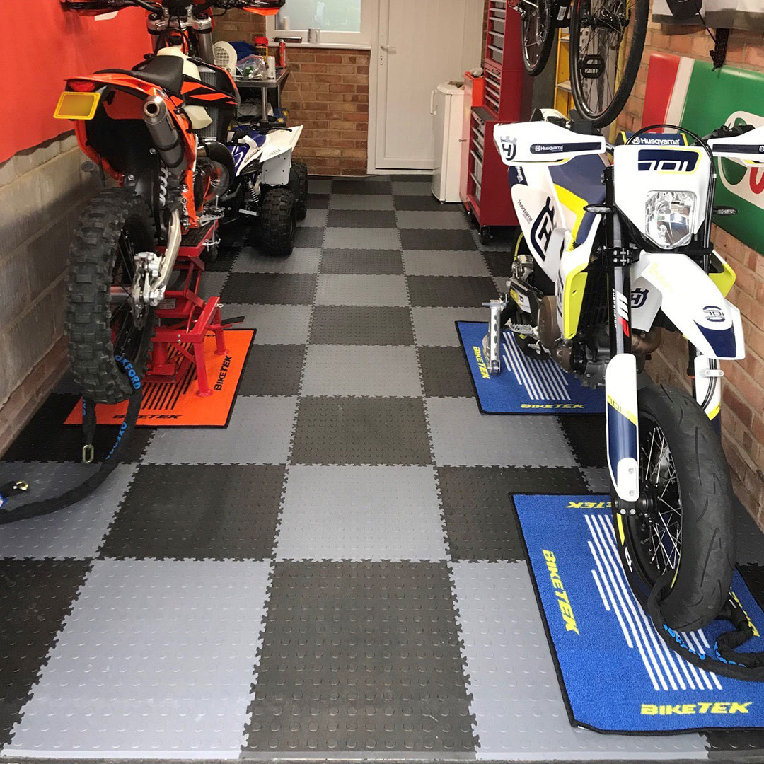 interlocking tiles for your single garage