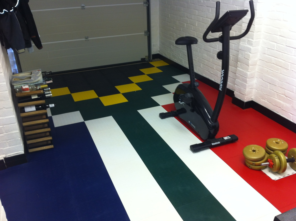Garage floor makeover and projects gallery