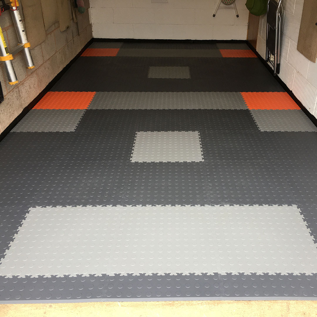 Match Your Floor Tiles To The Colour of Your Car