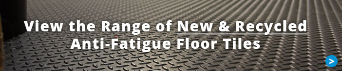 View the range of Recycled and new MotoMat Anti fatigue interlocking tiles from Mototile