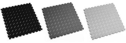 New interlocking Tiles Black, Dark Grey And Light Grey Colours