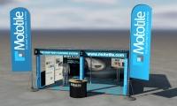 Mototile Exhibiton Stand