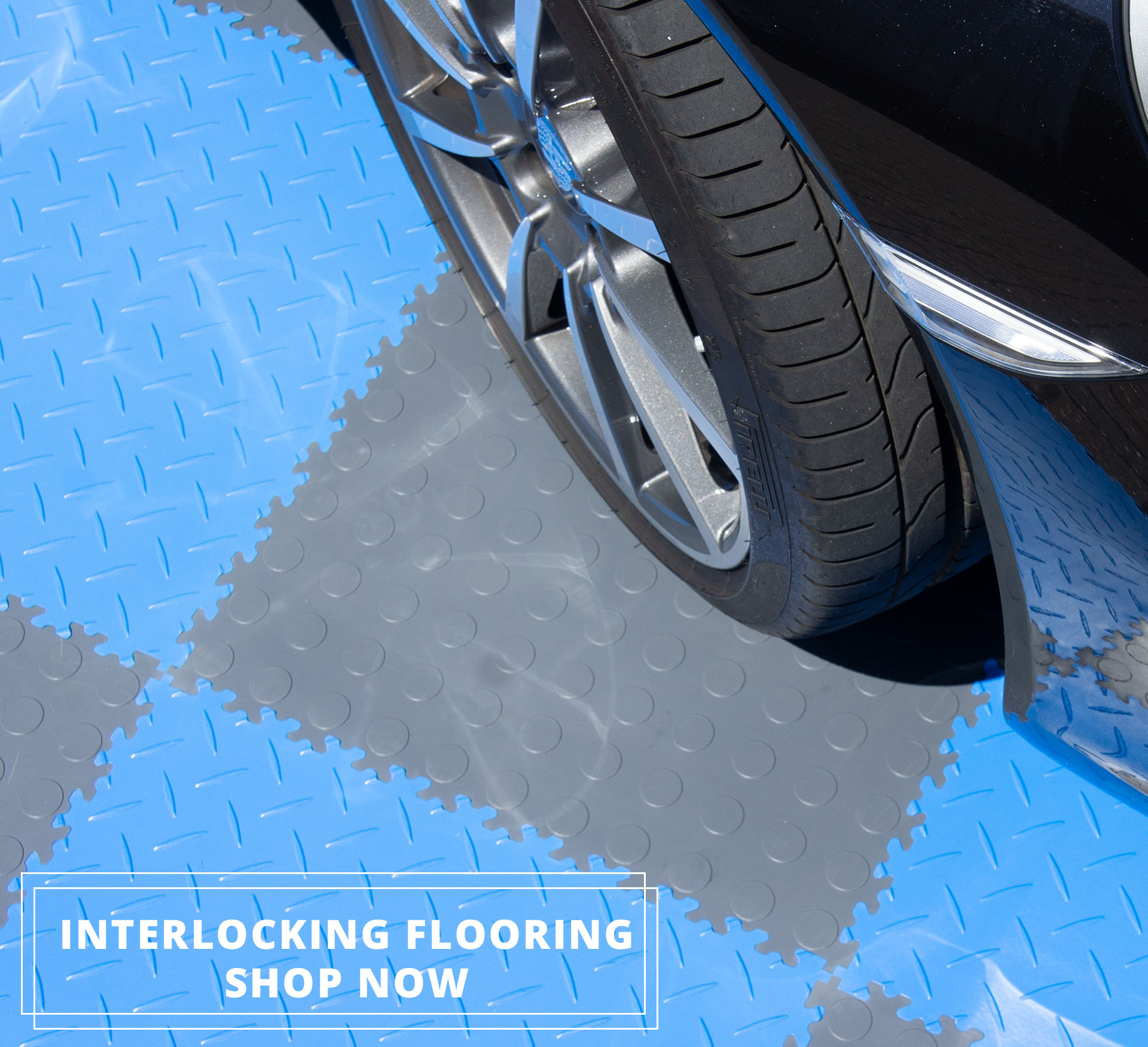 Mototile still open and full of interlocking tiles for your floor space