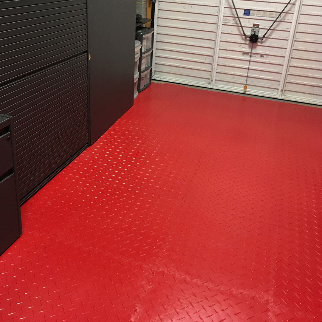 Floor tiles simple to install