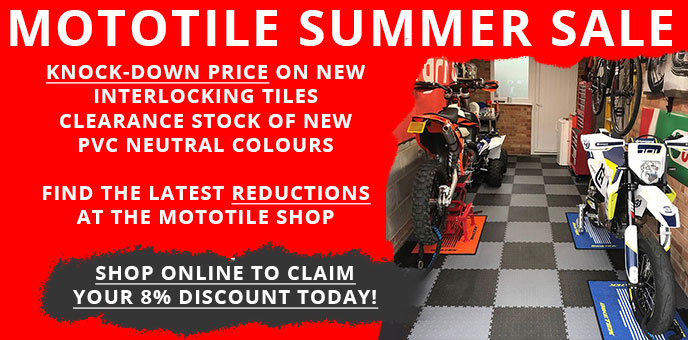 Mototile summer sale price reduction on new floor tiles and still claim a 6% discount