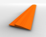 Gulf Orange Tile Ramp