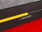 Pvc Tile Skirting For Mototile Interlocking Flooring