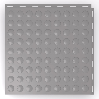 Coin Top seamless floor tile.