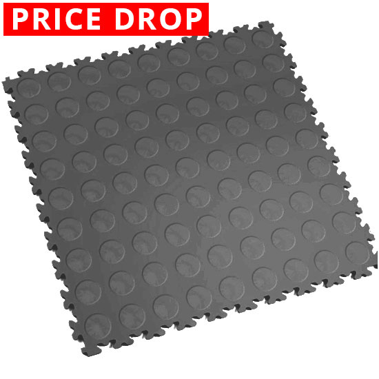 Motolock Dark Grey Cointop Interlocking Tile