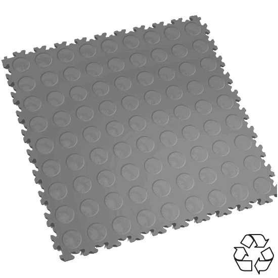 Picture Of A Heavy Duty Recycled Interlocking Tile