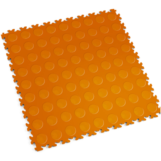 Motolock Orange Cointop Interlocking Tile
