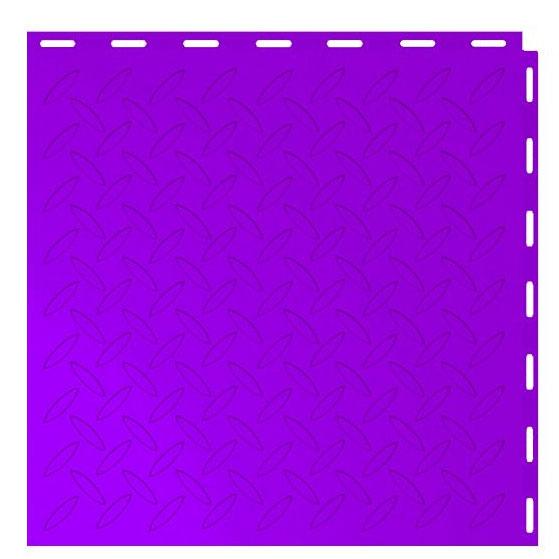 Seamless Interlocking Tiles Diablo Purple Diamond Plate