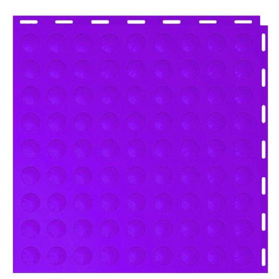 Seamless Interlocking Tiles Diablo Purple Cointop
