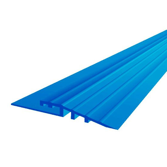 Electric Blue Mototile Seamless Tile Edge Ramps