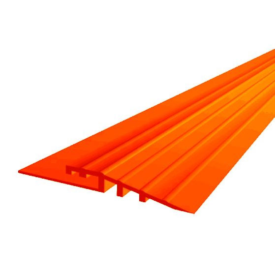 Gulf Orange Mototile Seamless Tile Edge Ramps