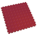 Heavy Duty New PVC Interlocking Floor Tiles - Burgundy