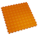 Heavy Duty New PVC Interlocking Floor Tiles - Orange