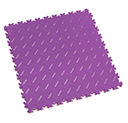 Heavy Duty New PVC Interlocking Floor Tiles - Purple
