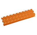 Heavy Duty New PVC Interlocking Tile Edge Ramp - Orange
