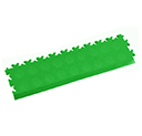 Heavy Duty New PVC Interlocking Tile Edge Ramp - Light Green