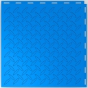 Diamond-Plate Pattern - Garage Floor Tiles - Colour Electric Blue